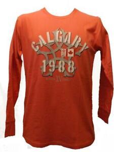 New 1988 Calgary Canada Winter Olympics Mens Sizes S-M-L-XL Licensed Shirt