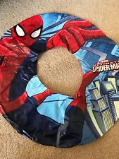 swim ring inflatable spiderman holiday rubber ring