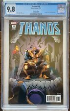 Thanos #13 2nd Print - CGC 9.8 White Pages - 1st App Cosmic Ghost Rider - 2018