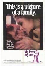 MY LOVER MY SON Movie POSTER 27x40 Romy Schneider Donald Houston Dennis Waterman