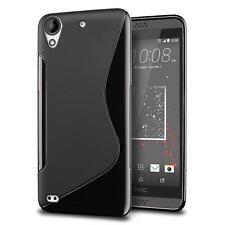 Funda de móvil htc desire 820 silicona Slim, funda protectora bolso negro