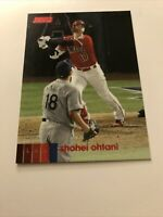 Topps Stadium Club 2020 Shohei Ohtani Red Parallel Angels #145