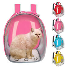 Portable Cat Backpack Space Capsule Transparent Breathable Cat Travel Carrier