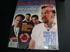 Blender CD-ROM Magazine Metallica Devo Jon Stewart Volume 2.4 Windows MAC NEW