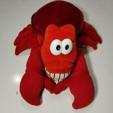 VTG Walt Disney The Little Mermaid Sebastian Hand Puppet Lobster Ariel Flounder