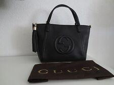 Gucci luxury Bag Borsa soho Leather Black negro bolso bolso de mano bolsillo nuevo