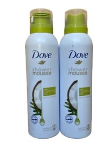 Dove Shower Mousse with Coconut Oil 2 x 200 ml