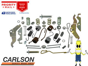 """Complete Rear Brake Drum Hardware Kit for Chevrolet Chevelle 1973 with 11"""" Drums"""