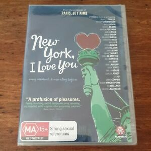 New York I Love You DVD R4 BRAND NEW SEALED! FREE POST