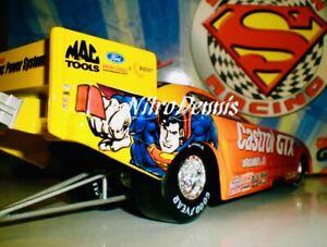 NHRA JOHN FORCE 1:24 Diecast NITRO Funny Car TOP FUEL Superman 1999 Vintage