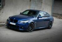 Splitter for BMW E60 E61 Front Sport Bumper Chin Lip Spoiler