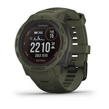 Garmin Instinct Solar Rugged Outdoor Watch Tactical Edition - Moss (010-02293-14