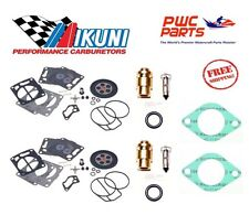 SeaDoo DUAL MIKUNI Carburetor Rebuild Kit Needle Seat Carb Gasket 1996-1997 GSX