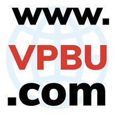 Dominio COM de 4 letras  www.VPBU.com