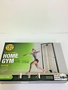 GOLDS GYM Door Mount Total-Body Training Home Gym Workout