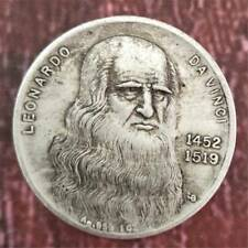 Commemorative Coin Silver Coin Leonardo Da Vinci Maja Desnuda Collection
