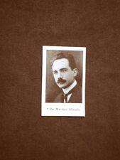 Deputato d'Italia nel 1924 Onorevole De Marsico Alfredo e Mandragora Leonardo