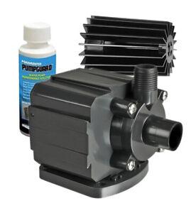 Pondmaster 250 GPH Submersible Small Pond Pump (02522) Energy Saving, Oil-free