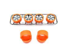 Custom Super Thin Orange Medium Size Tire (2.2mm) For Tamiya Mini 4Wd