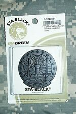 US Army Basic Instructor Badge Black / Subdued Pin Military Authentic NIP