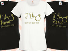 I Do Crew Hen Night T Shirts Do Party Custom Ladies Printed Personalised