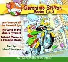 Geronimo Stilton Bks. 1-3 : Lost Treasure of the Emerald Eye; The Curse of the C