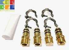 """Verbinder Set Tulpe O-Ring 22mm x 3/4"""" für Thermische Solaranlagen, auch Vitosol"""