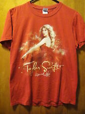 "Taylor Swift ""Speak Now"" Tour Concert T Shirt Red Small"