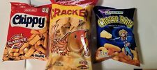 3 pcs Snack Box Filipino Food Snack Fish Cracker, Chippy, Cheese Ring,Party Food