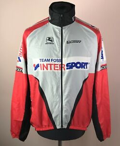 Giordana Intersport Scott Cycling Jacket Men's Size L Full-Zip Jersey