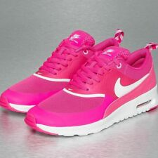 WMNS NIKE AIR MAX THEA 599409 602 PINK FOIL /WHITE  RUNNING SHOES SIZE 11