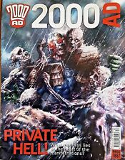 2000AD Private Hell Madness Hitler Jesus Dredd Horror Prog 1887 Weird Collectors