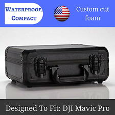 Carrying Case for DJI Mavic Pro Drone And Accessories Aluminum Hard Shell ABS