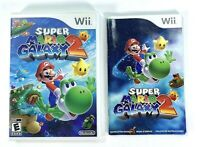 Nintendo Super Mario Galaxy 2 - Not Working - Complete Booklet Video Game