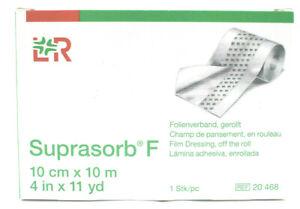 Folienverband Suprasorb F 10 cm x 10 m gerollt REF 20468