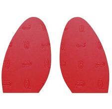 Ladies Red stick on soles one size 1mm christian louboutin