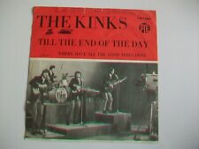 "THE KINKS - TILL THE END OF THE DAY - 7"" SINGLE MADE IN SWEDEN- PYE 7N 15981"