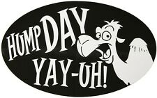 """HUMP DAY CAMEL COMMERCIAL 4""""X6"""" OVAL CAR MAGNET"""