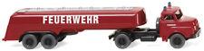 WIKING 086142 H0 LKW man Großtanklöschfahrzeug Feuerwehr