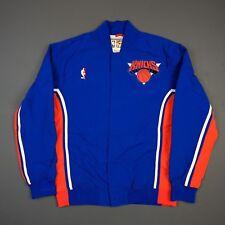 100% Authentic Mitchell & Ness New York Knicks Warm Up Jacket Size 48 XL Mens