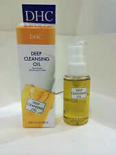 DHC DEEP CLEANSING OIL MAKEUP REMOVER FACIAL CLEANSER OLIVE-OIL BASED FORMULA