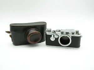 Leitz Wetzlar Leica IIIc Messsucher Kamera