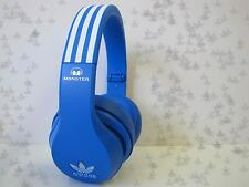 MONSTER x Adidas Headset Kopfhörer OverEar Control Talk f. Apple blau