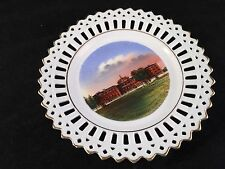ANTIQUE WHEELOCK SOUVENIR CHINA LACE EDGE PLATE FROM ROCHESTER MINNSOTA