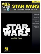 Violin Play-Along Star Wars Learn to Play Film FIDDLE Music Book & Online Audio