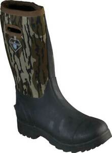 NEW Mens SKECHERS Work Weirton Camouflage RUBBER WATERPROOF Boots AUTHENTIC
