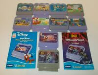 Vtech V Smile Learning System Lot of 10 Games Toy Story Batman Mickey Mouse