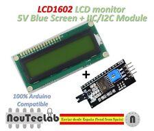 LCD1602 LCD Pantalla Azul Código Blanco 1602 5V + IIC I2C Módulo para ARDUINO