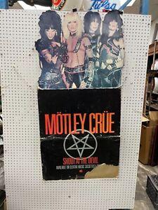 Motley Crue, Large Cardboard Album Promotional Stand