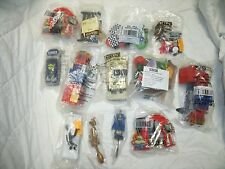 Lot of 12 Cake Toppers: Mario Bros, Transformers, Nascar, Toy Story, GI Joe